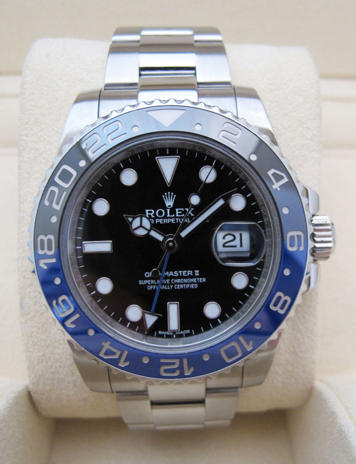 "ROLEX GMT-Master II - "" BATMAN ""."