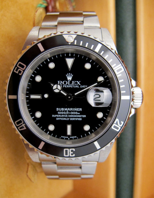 rolex submariner date 16610 occasion. Black Bedroom Furniture Sets. Home Design Ideas