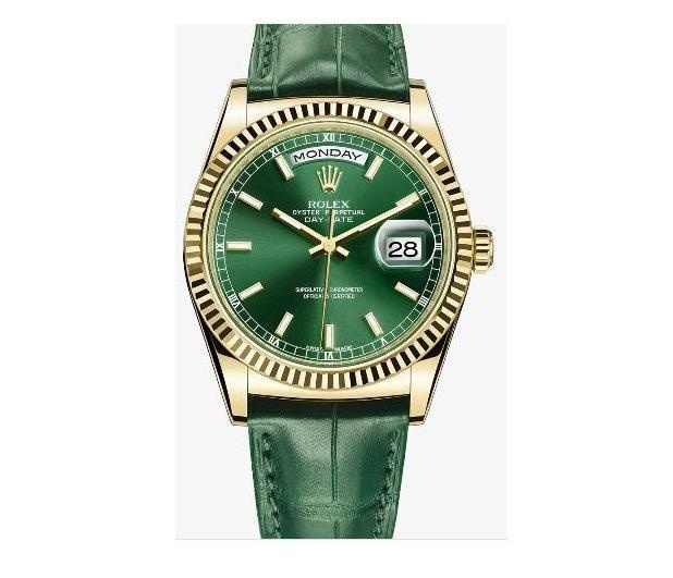 DAY-DATE Green 118138