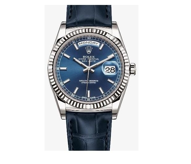 DAY-DATE Blue 118138