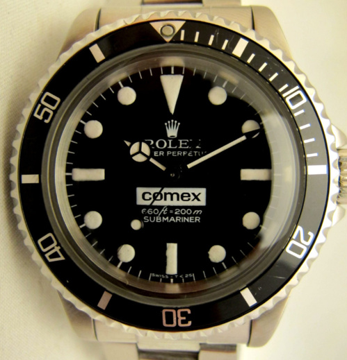 "Submariner 5514 COMEX "" Big Number "" -"