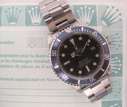 ROLEX Sea-Dweller 16660 Triple Six Full Set -
