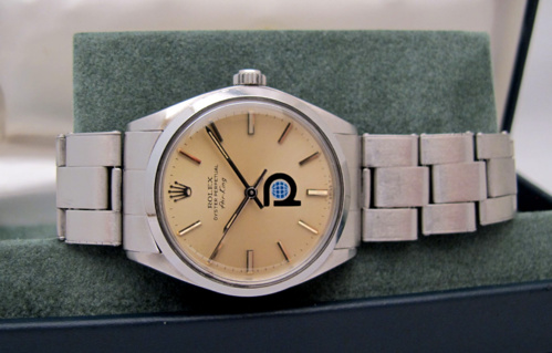 "ROLEX Air-King Logo "" Petroleum "" -"