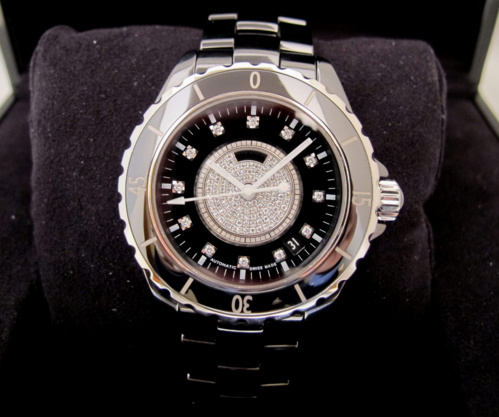 CHANEL J12 Grande Taille AUTO Joaillerie -