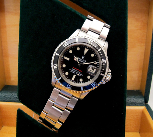ROLEX Submariner 1680 Rouge -