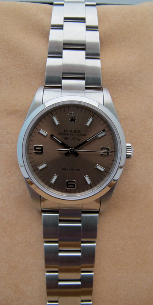 ROLEX Air-King - Cadran Rose -