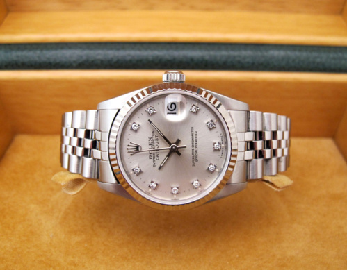 ROLEX Datejust 31MM Indexs Brillants -