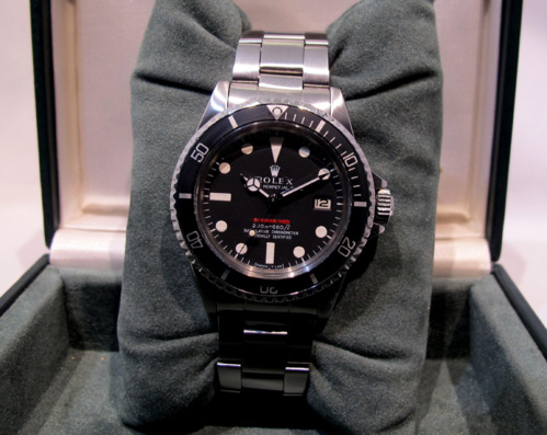 ROLEX Submariner 1680 Rouge Meters First -