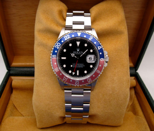 "ROLEX GMT Master II Pepsi "" Faded "" -"