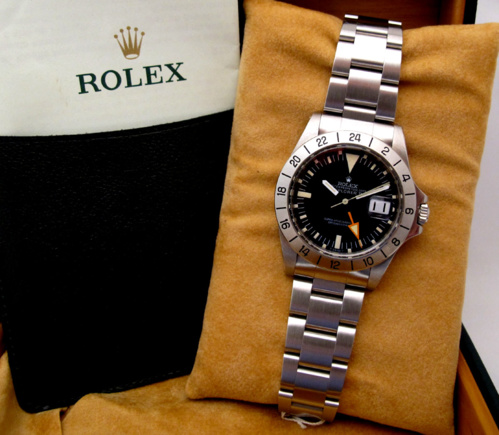 ROLEX Explorer II Steve Mc Queen Mark II - Foot Frog.