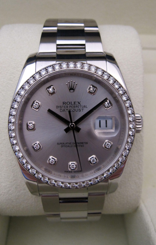 ROLEX Oyster Perpetual DATEJUST - Joaillerie.
