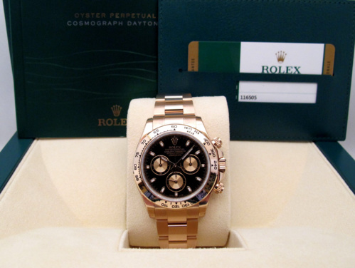 ROLEX Cosmograph DAYTONA Or Rose -