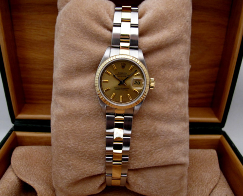 ROLEX Oyster Perpetual DATEJUST Lady Or/Acier -