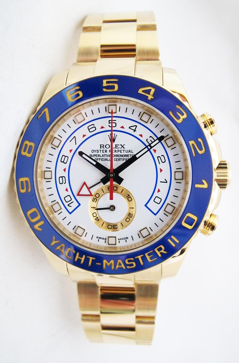 ROLEX Yachtmaster II - Tout Or Jaune 18K.