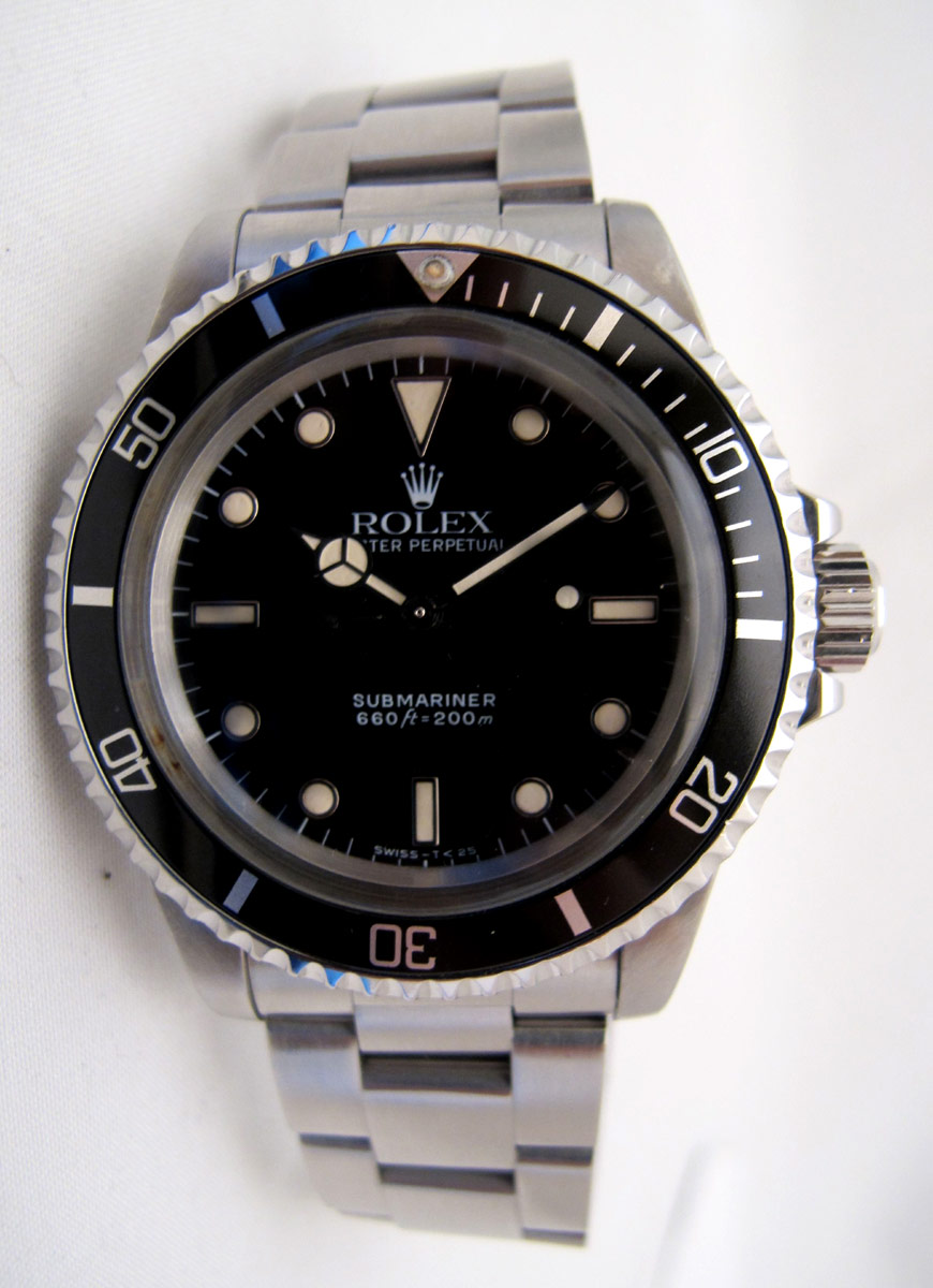 ROLEX Submariner 5513 Transition -