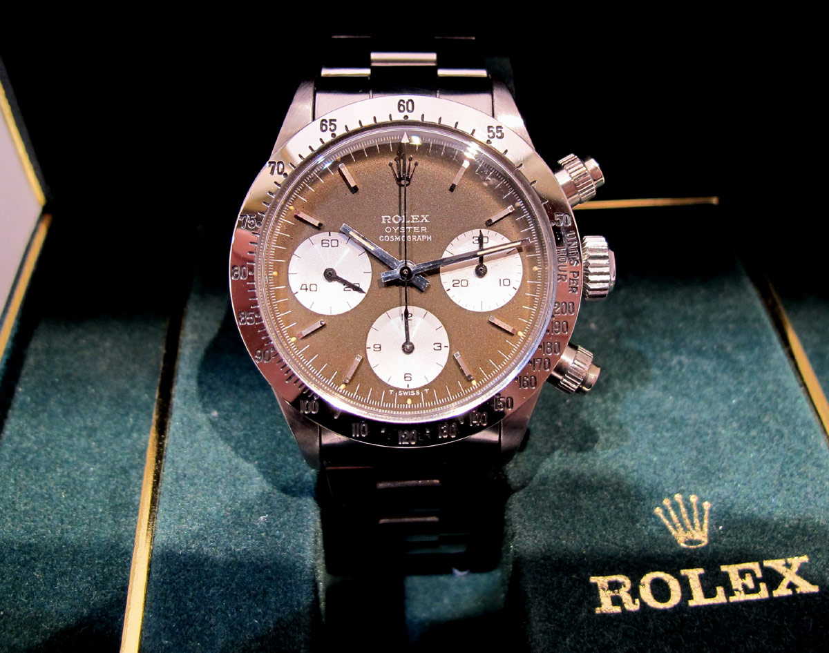 ROLEX Cosmograph DAYTONA All Brown Dial - 20/20.