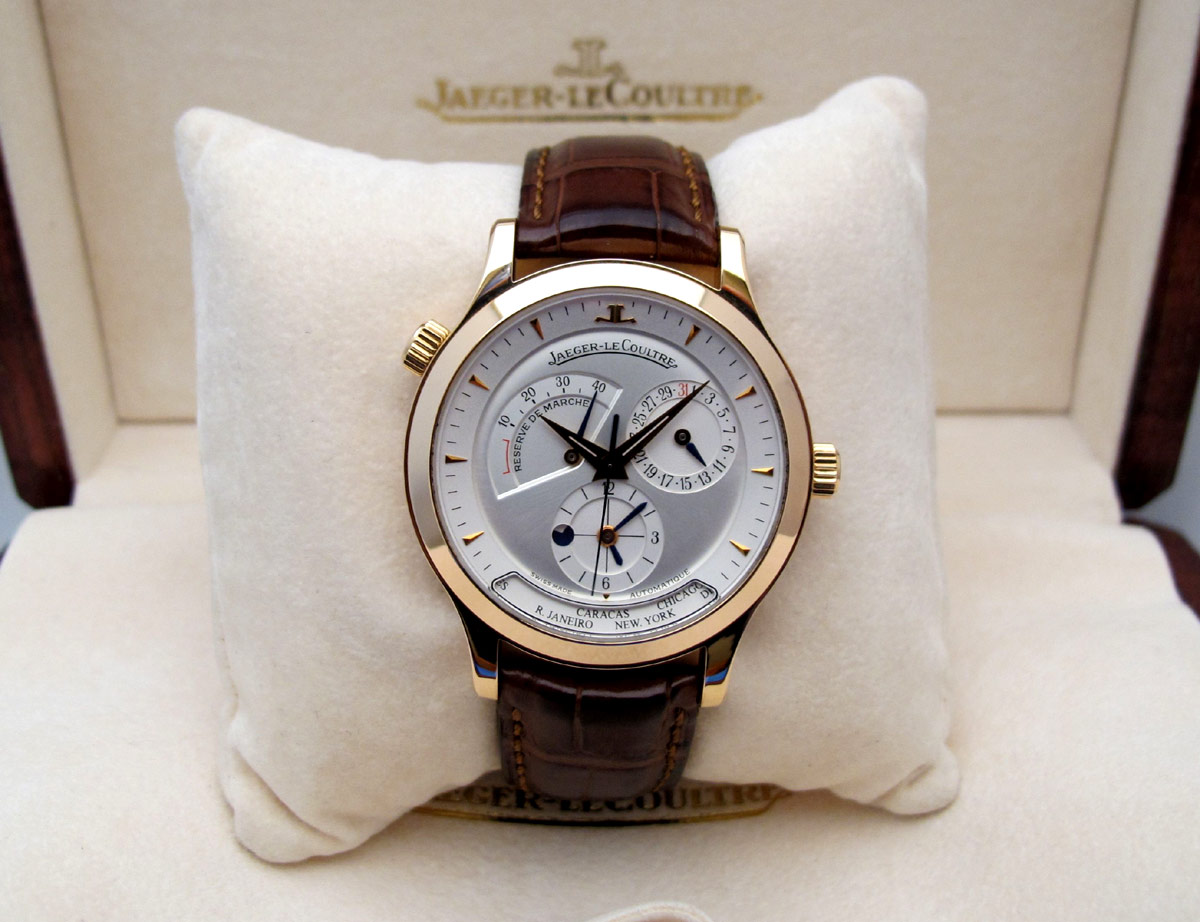JAEGER LECOULTRE Master Geographic Or Rose -