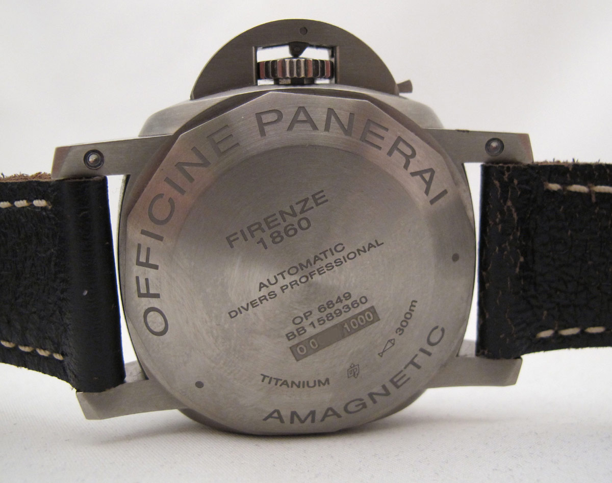 PANERAI Luminor AMAGNETIC Titanio -