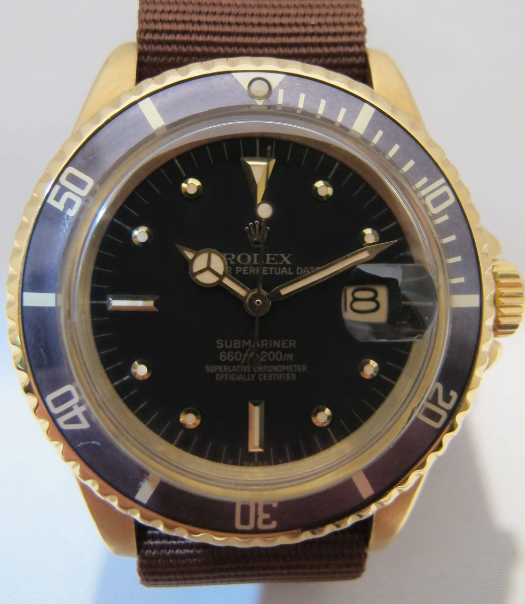 ROLEX Submariner Date 1680 Or -
