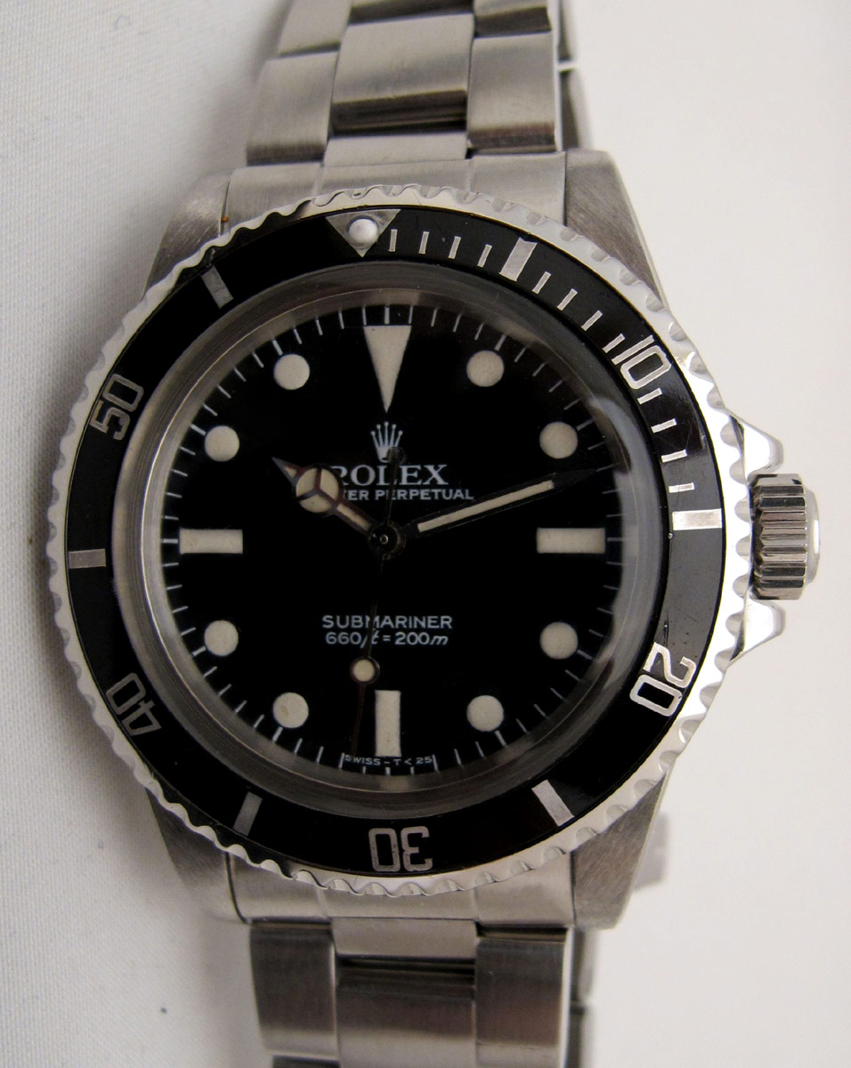 ROLEX Submariner 5513 Maxi Dial Mark V Full set -