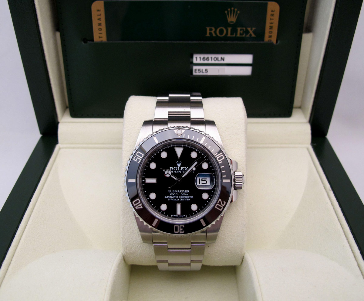 ROLEX Submariner Date Céramique 116610LN  -