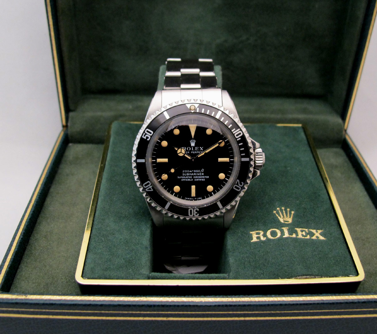 ROLEX Submariner 5512 Meters First -