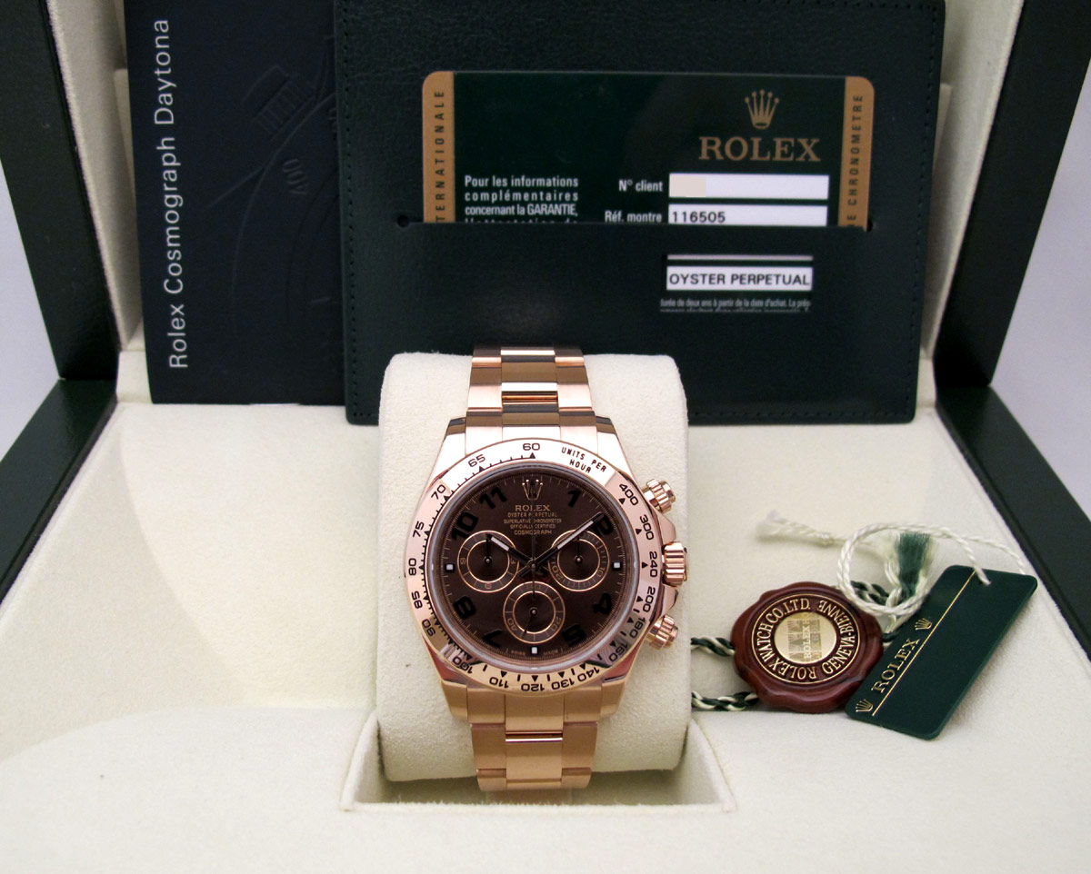ROLEX Cosmograph DAYTONA Tout Or Rose -