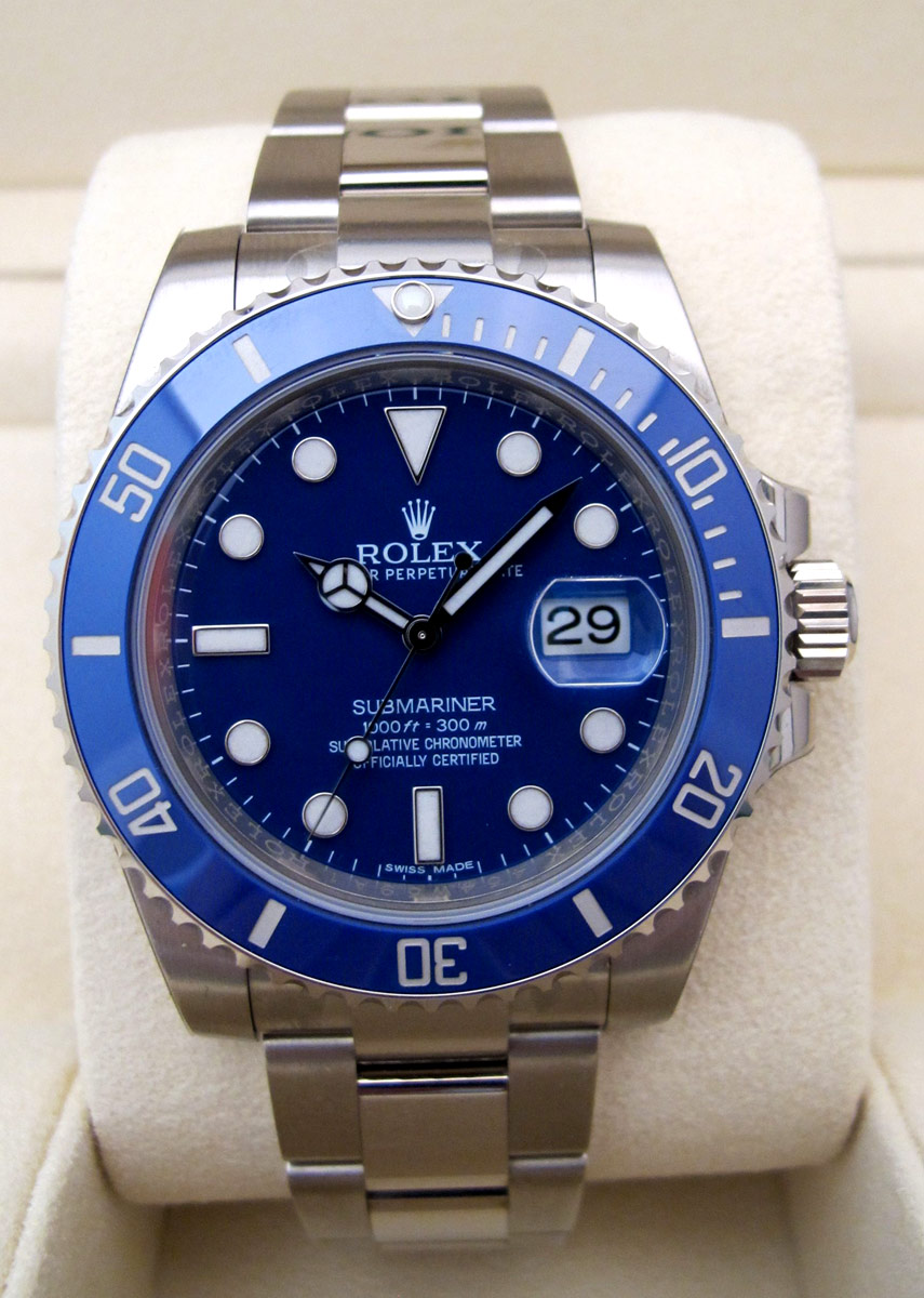 ROLEX Submariner Date Tout or blank 18K -
