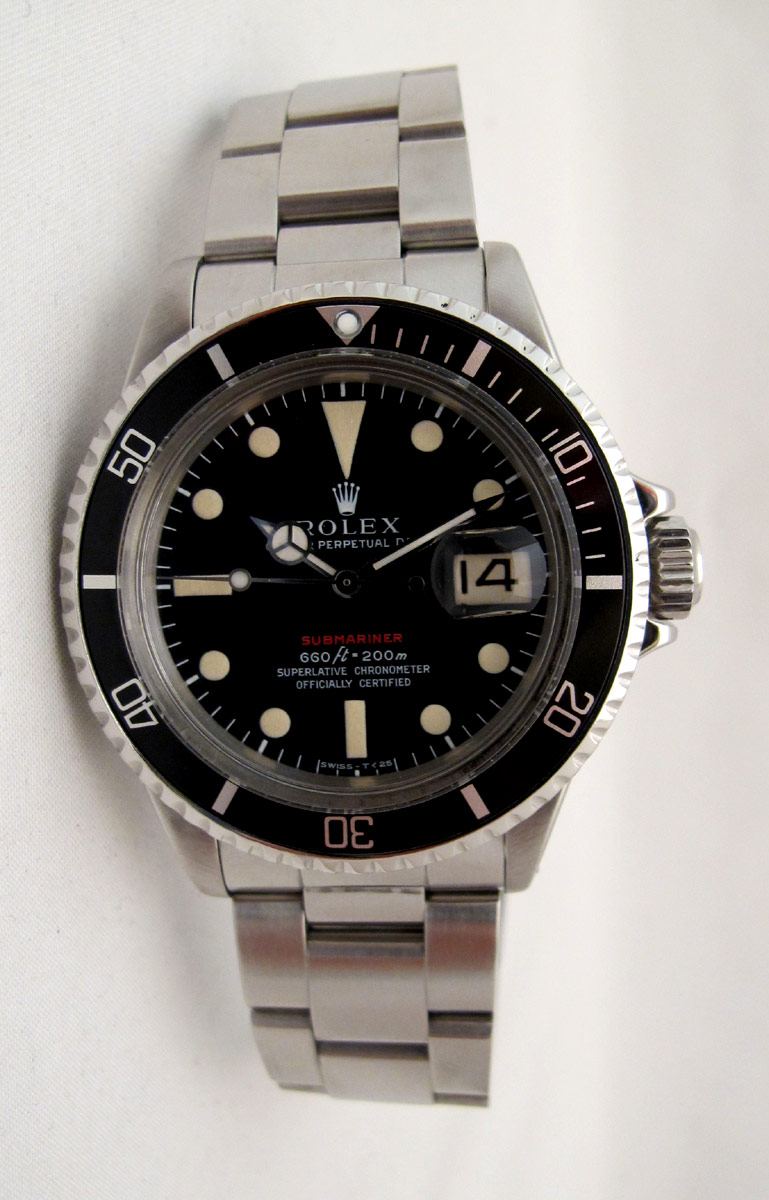Submariner Date 1680 Rouge Cadran Mark IV.