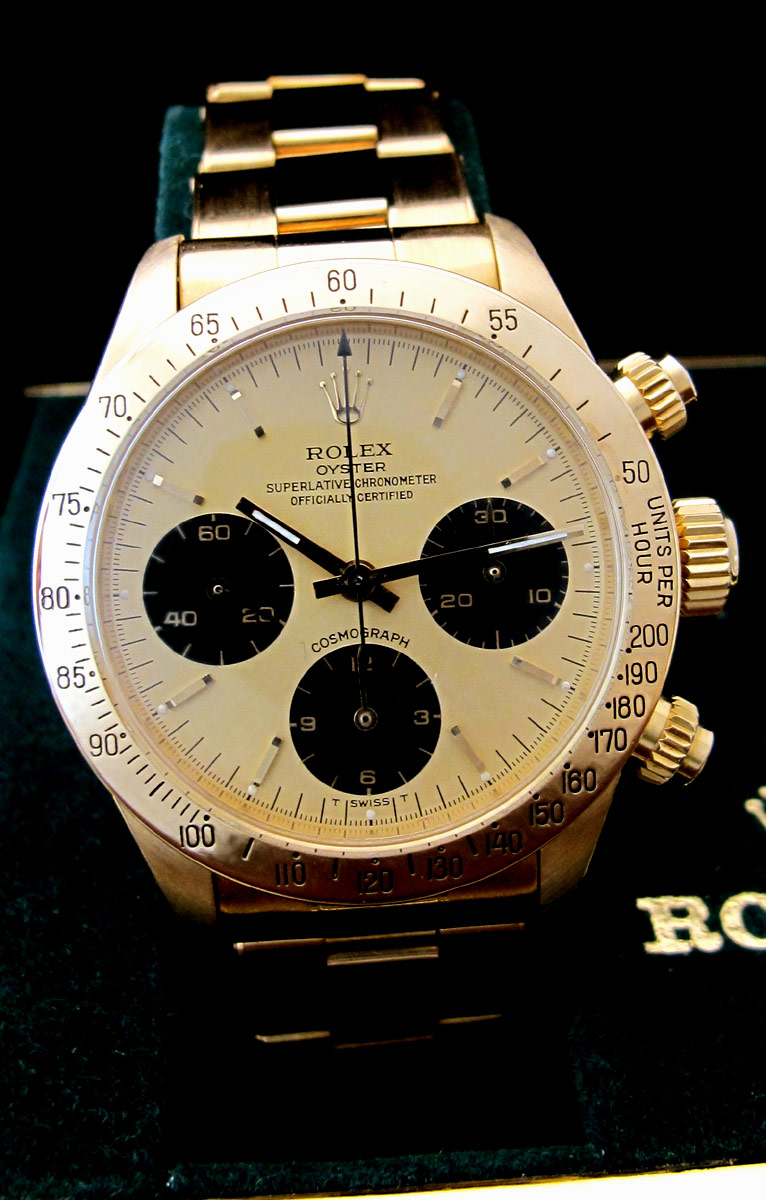 ROLEX Cosmograph DAYTONA 6265 Or/Or -