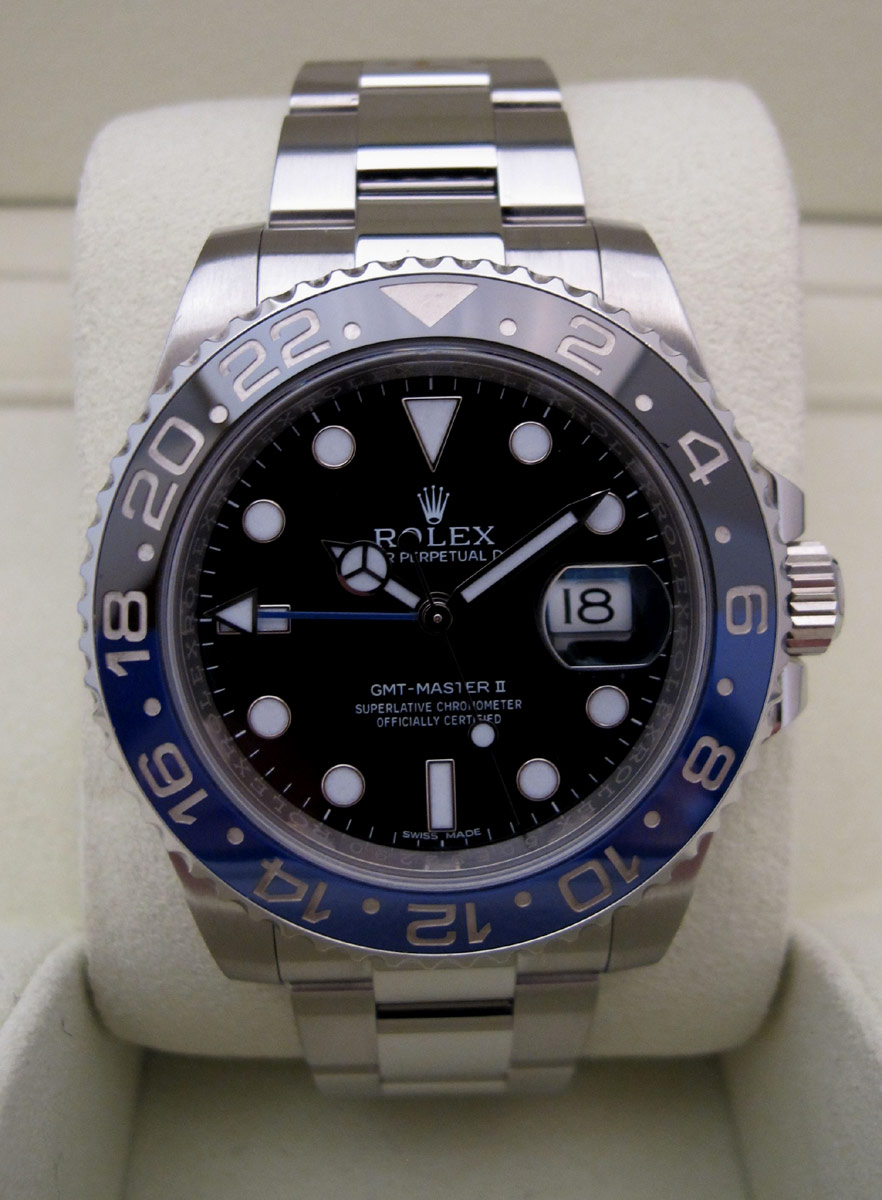 ROLEX GMT Master II - BATMAN.
