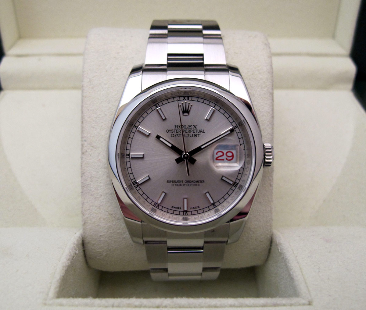 ROLEX Oyster Perpetual DATEJUST 36MM -