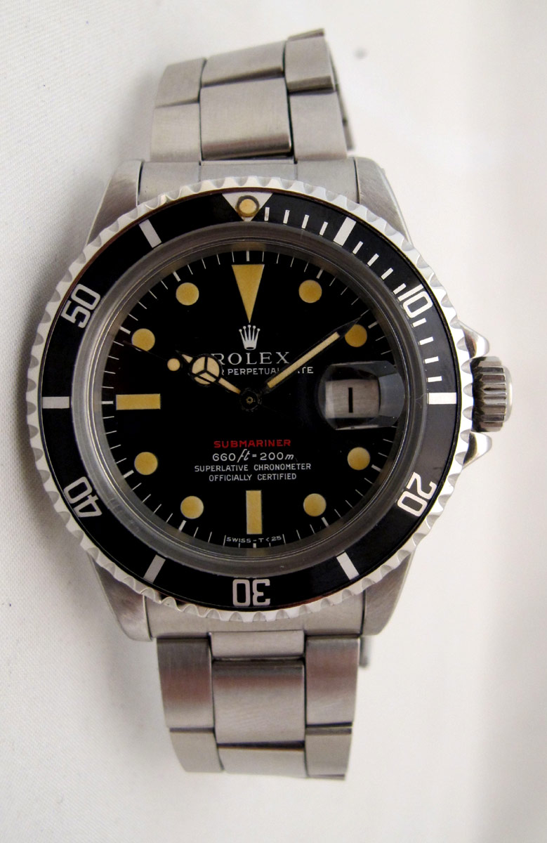 ROLEX Submariner Date 1680 Rouge Mark IV -