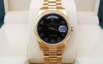 ROLEX DAY-DATE 36MM Tout Or Rose 18K -