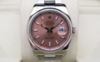 ROLEX Oyster Perpetual DATEJUST 36MM - Cadran Rose.