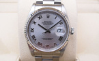 ROLEX Oyster Perpetual DATEJUST 36MM - Lunette Or Gris.