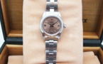 ROLEX Oyster Perpetual Lady - Cadran Rose.