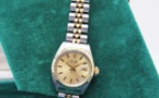 ROLEX Oyster Perpetual DATE Lady - Or / Acier.