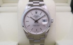 ROLEX Oyster Perpetual DATE 34MM - Cadran Silver.