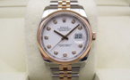 ROLEX Oyster Perpetual DATEJUST 36MM - Or Rose / Acier.