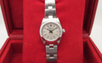 ROLEX Oyster Perpetual Lady - Cadran Gris.