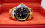 ROLEX Submariner Date 1680 Full Gold Blue Navy -