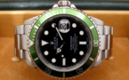 "ROLEX Submariner Verte 16610 LV "" Fat Four "" -"