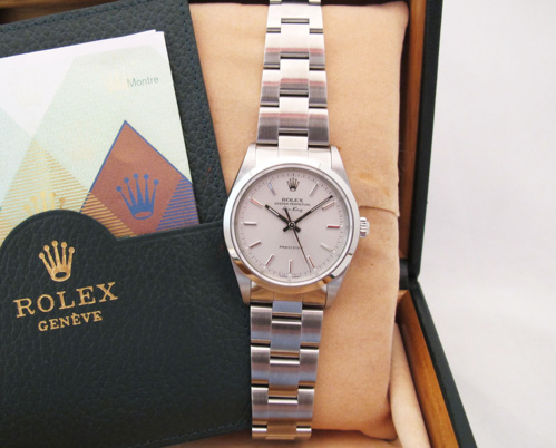 ROLEX Air-King Precision - Cadran Gris.