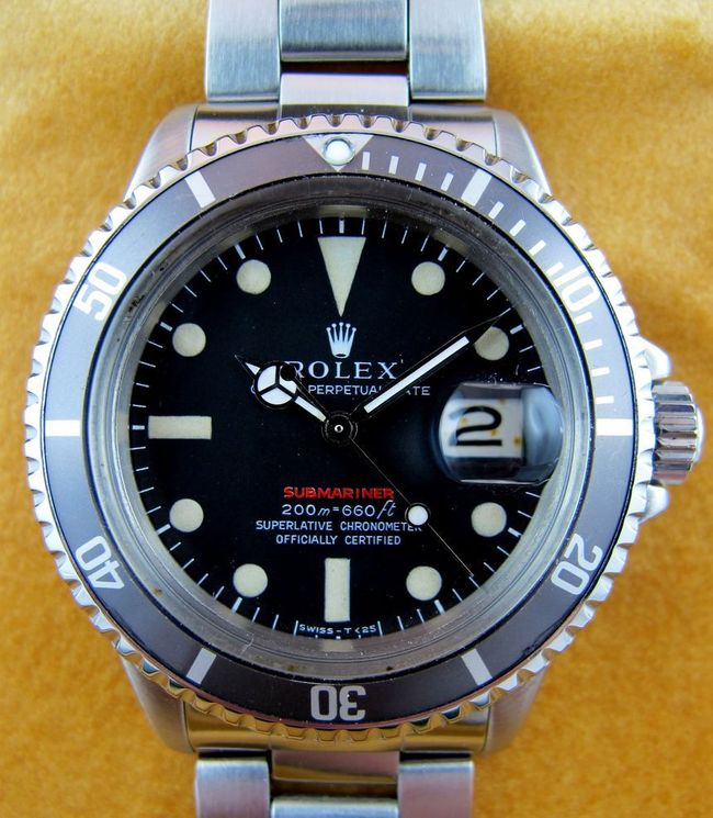 ROLEX Submariner Rouge Meter First