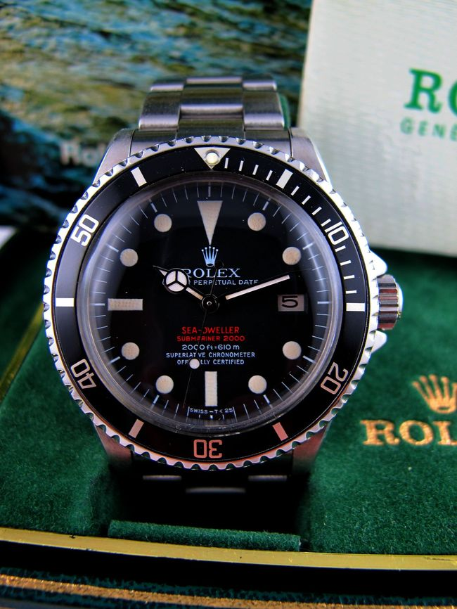 ROLEX Sea-Dweller Double Rouge Mark 3
