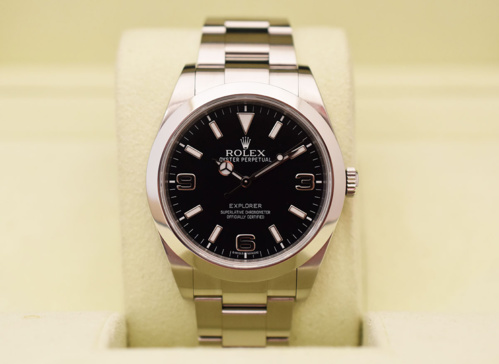 ROLEX Explorer I 39MM - Full Set.