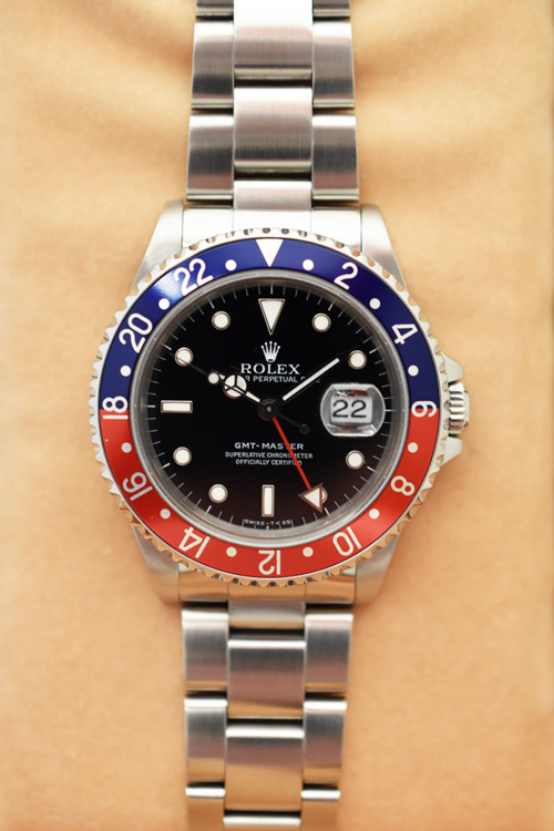 ROLEX GMT Master 16700 Pepsi - Full Set.