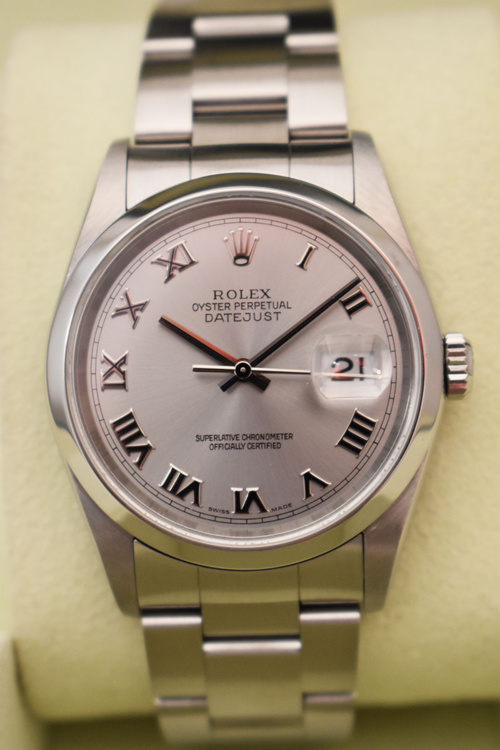 ROLEX Datejust 36MM - Full Set.