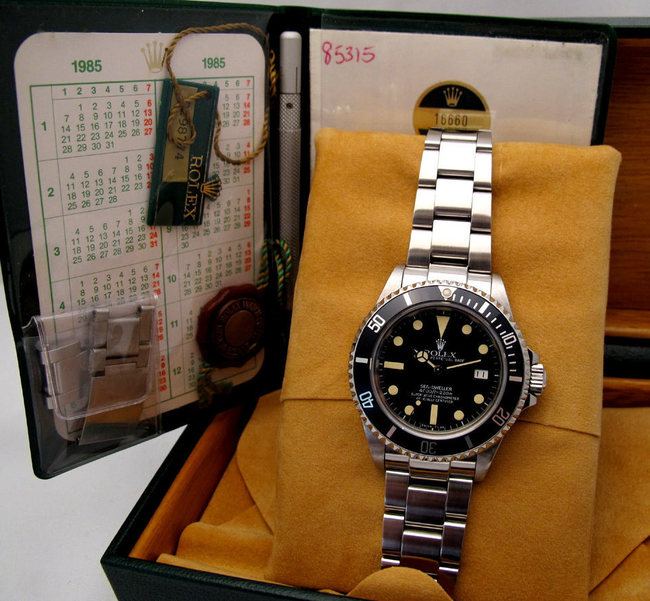 "Rare ROLEX Sea-Dweller ""Triple 6"""